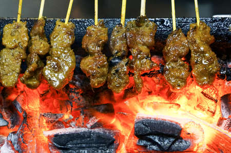 Charcoal Grill Satay