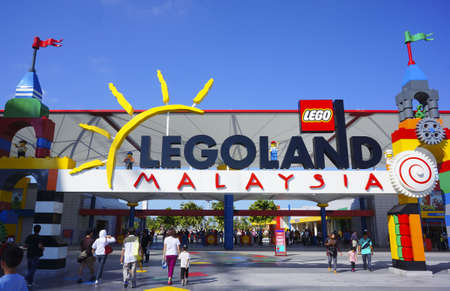 JOHOR - JANUARY 27: Atmosphere at Legoland Malaysia on January 27, 2013 in Johor Malaysia. It is the first Legoland park to open in Asia
