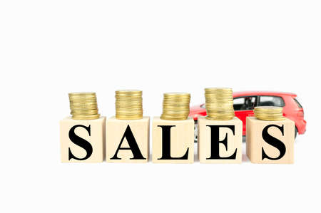 incentives: sales bonus payout, financial incentives Stock Photo