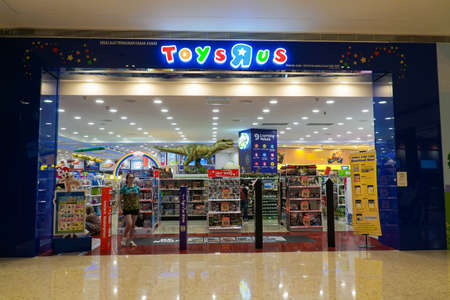 KUALA LUMPUR, MALAYSIA - SEPTEMBER 23, 2017: Toys Editorial