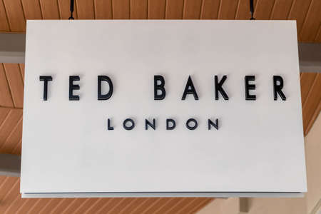 GENTING HIGHLAND, MALAYSIA - SEPTEMBER 16, 2017: Ted Baker store. Ted Baker plc is a British luxury clothing retail company