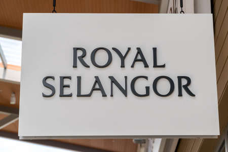GENTING HIGHLAND, MALAYSIA - SEPTEMBER 16, 2017: Royal Selangor store. Royal Selangor International Sdn Bhd is a Malaysian pewter manufacturer and retailer, the largest of its type in the world Editorial