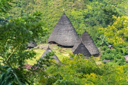 Wae Rebo Village in Indonesien