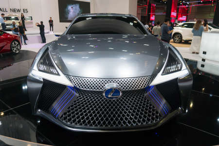 KUALA LUMPUR, MALAYSIA - NOVEMBER 23, 2018: Lexus LS+ Concept at Kuala Lumpur Motor Show