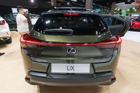 KUALA LUMPUR, MALAYSIA - NOVEMBER 23, 2018: Lexus UX200 at Kuala Lumpur Motor Show