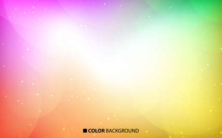 Abstract blurred gradient background. Colorful background with geometric shape composition. Useful template.