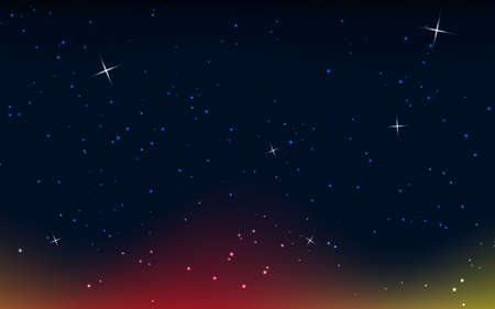Abstract light background. colorful star light. black background.