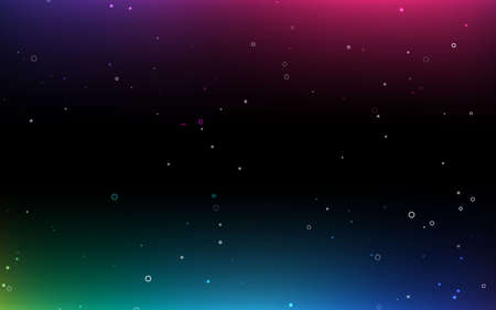 Abstract light background. colorful star light. black background. Stockfoto - 151076708