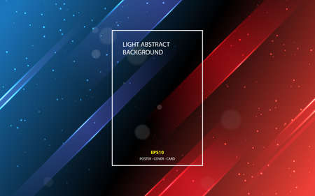 Abstract light background with modern line gradient color. Can use for poster, banner, cover, card, background. Illustration