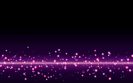 Purple abstract bokeh background Illustration