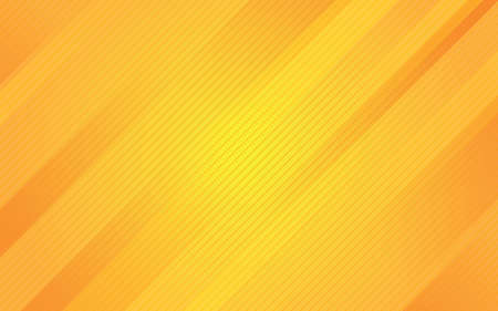 Abstract yellow background with diagonal line. Minimal geometric Background 矢量图像