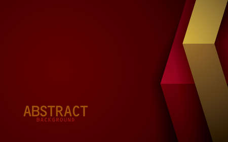 Dark red and yellow background vector overlap layer