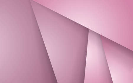 Abstract overlap layers pink background. vector decorative layers shape paper cut effect.
