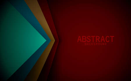 Dark red background vector colorful  overlap layer