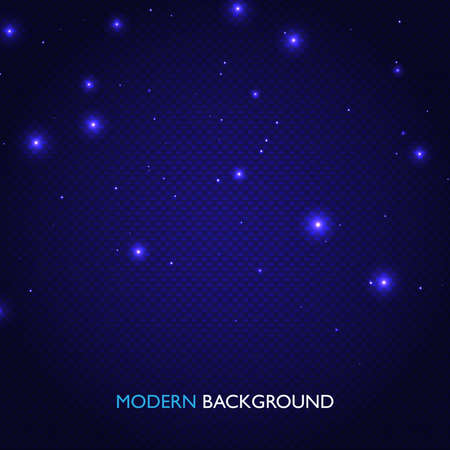 Dark blue abstract geometric background. Tech design composition.