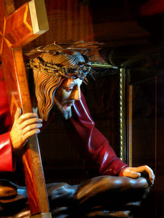 scourging: The Redeemer Stock Photo