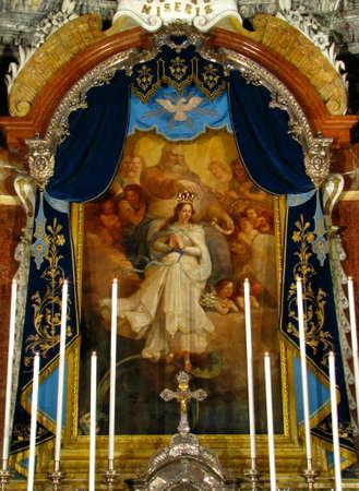 immaculate: Inmaculada Concepci�n Foto de archivo