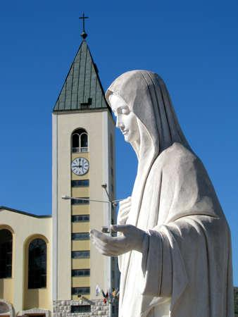 tabernacle: In Medjugorje Stock Photo