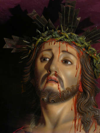 crown of thorns: King of Kings Stock Photo