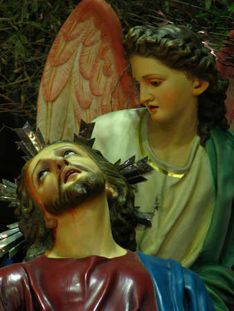 scourging: The Agony In The Garden, Cospicua - Malta