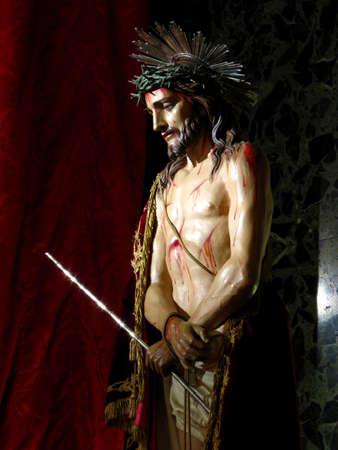 scourging: Ecce Homo, Senglea - Malta