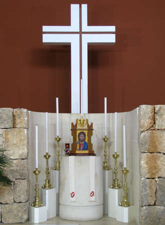 tabernacle: The Holy Tabernacle in a church in Manikata, Malta