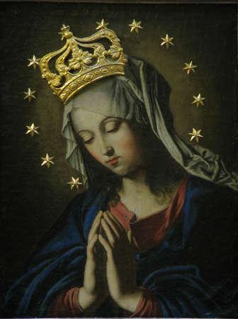 バレッタ, マルタの祈り聖母の絵画
