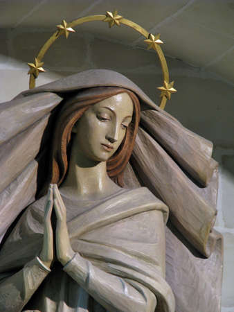 dogma: The statue of The Immaculate Conception in Ibragg, Malta