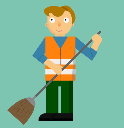 Profession Street Cleaner