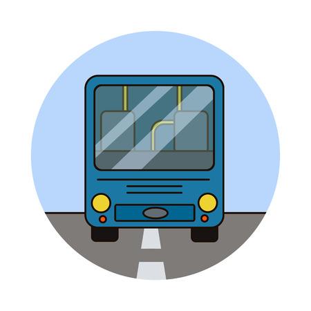 city bus riding