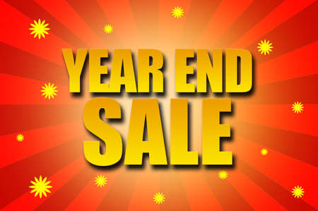 Year End Sale template design
