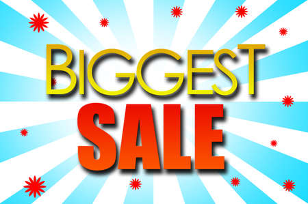 biggest: Biggest Sale template design