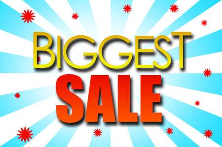 biggest: Biggest Sale template design
