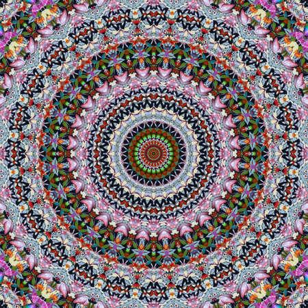 multicolored round ornament Stock Photo