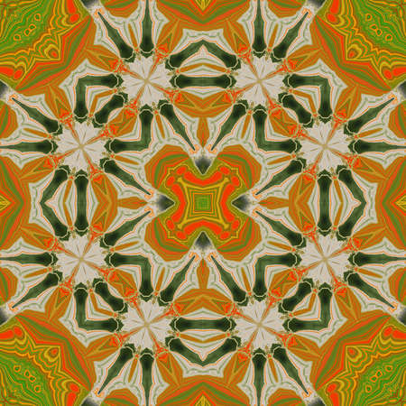 mixed wallpaper: ornamentation of colorful patterns