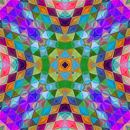 mehrfarbiges Ziermuster Standard-Bild