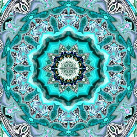 patrón ornamental multicolor