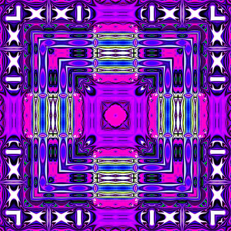 zvýšil: multicolored ornamental pattern