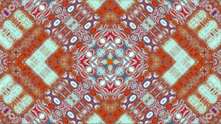 vícebarevný ornamentální vzor