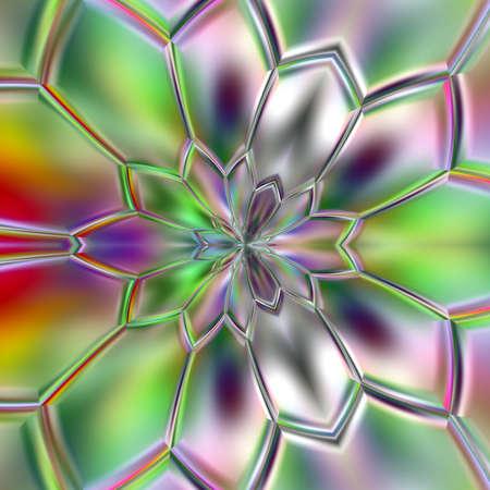 rainbow color unique pattern