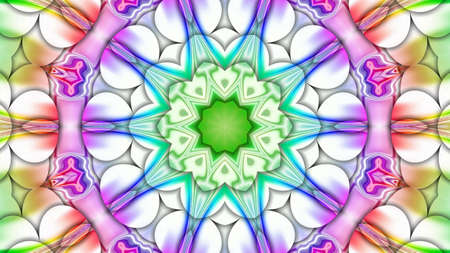 mixed color unique pattern ornament Stock Photo