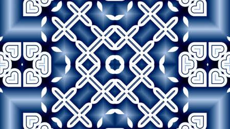 Unique mandala. Oriental round pattern. Mystical motif. Abstract exotic background. Fantastic fractal design. Colorful digital art, shining geometric texture.