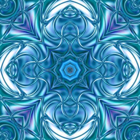digital art, Oriental pattern, geometric texture, Abstract background Фото со стока