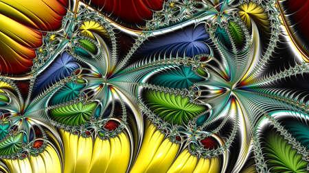 Digital artwork, geometric texture, Abstract background Stok Fotoğraf - 129266952