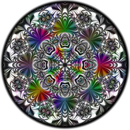 Digital artwork, geometric texture, Abstract background Stok Fotoğraf - 129266956