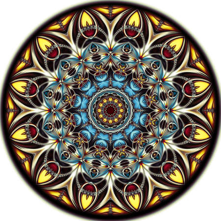 Digital artwork, geometric texture, Abstract background Stok Fotoğraf - 129266958