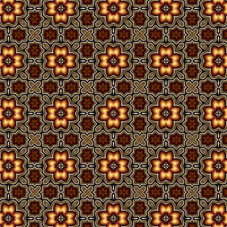 fractal, obra de arte digital, textura geométrica, fondo abstracto Foto de archivo