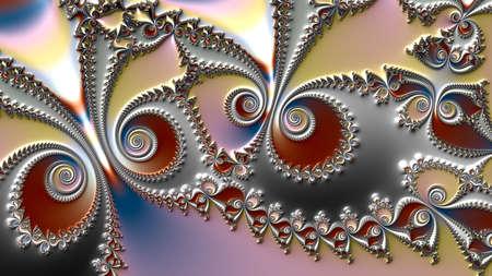 fractal, obra de arte digital, textura geométrica, fondo abstracto