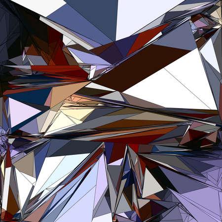 Special art, unique abstract design, fractal geometry Standard-Bild - 147322304