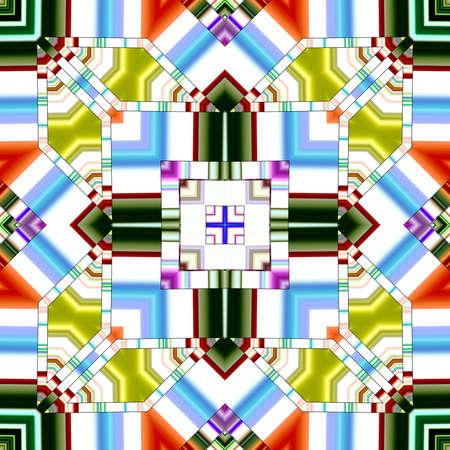 Special art, unique abstract design, fractal geometry Standard-Bild - 147322306